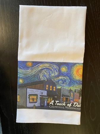 A Touch Of Dutch Starry Night Tea Towel