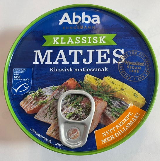 Abba Matjes Herring (2-day Ship radius only)(OUT OF STOCK)
