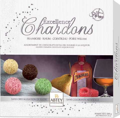 Abtey Excellence Chardons choc Liq (ALCOHOL) 21+ (SELL-BY 06/18)