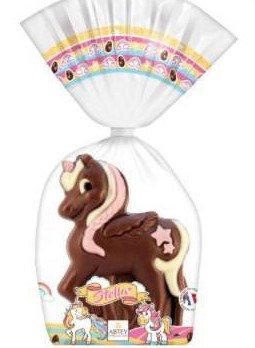 Abtey Stella the Unicorn hollow Milk chocolate (EASTER) (2 LEFT)
