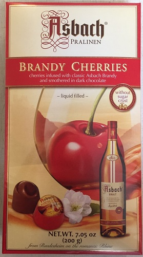 *Asbach Brandy Cherries 7oz (ALCOHOL) 21+ (ONLY 3 LEFT)