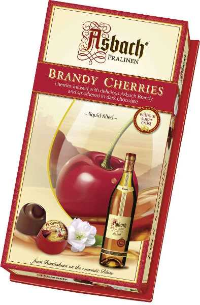 *Asbach Brandy Cherries (ALCOHOL) 21+