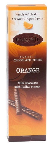 Baronie Milk Chocolate Orange Sticks
