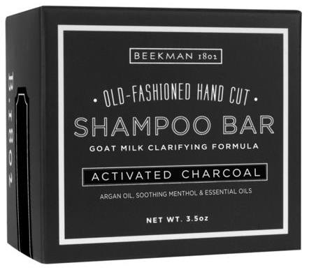 Beekman 1802 Goat Milk Shampoo Bar Activated Charcoal