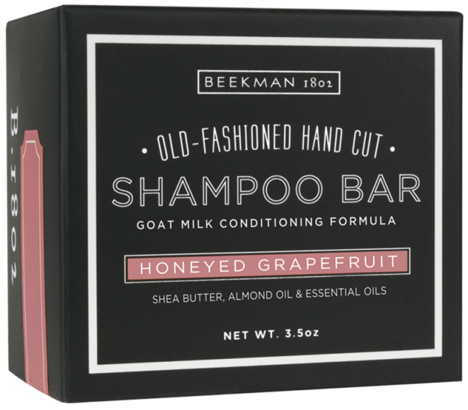 Beekman 1802 Goat Milk Shampoo Bar - Honeyed Grapefruit (5 LEFT)
