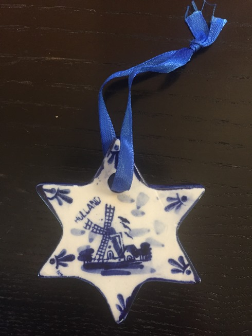 Blue/White Star (2D) w Windmill (Out of stock)