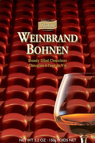 *Boehme Brandy filled chocolates (ALCOHOL) 21+ only (5 LEFT)