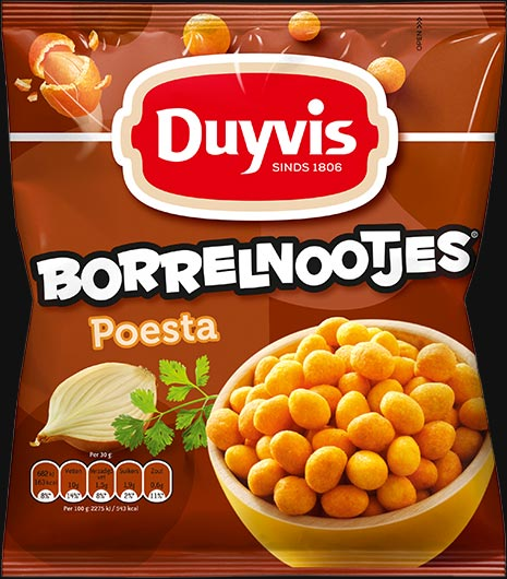 Duyvis Borrelnootjes (Borrelnoten) Poesta (OUT OF STOCK)