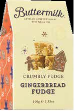 *Buttermilk Gingerbread Crumbly Fudge (SELLBY 06FEB20) (2 LEFT)