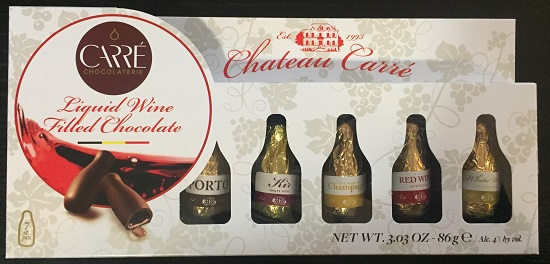*Carre Chocolaterie Chateau Wine filled choc (ALCOHOL) 21+ Only