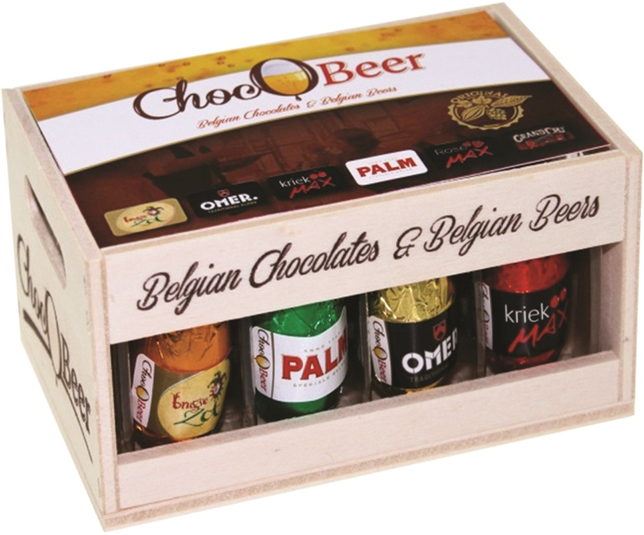 *ChocOBeer Belgian beer choc crate 12pc (ALCOHOL)21+