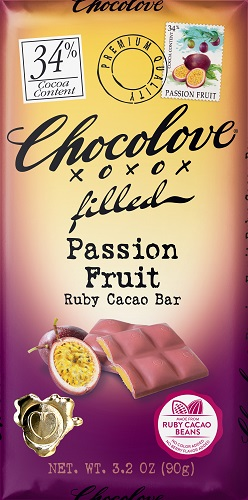 *Chocolove Passionfruit Ruby Cocoa Bar