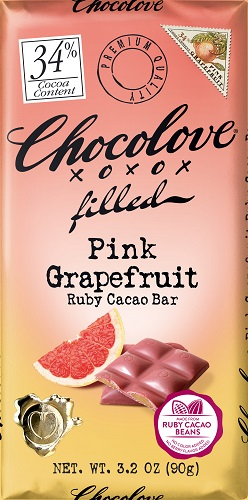 *Chocolove Pink Grapefruit Ruby Cocoa Bar
