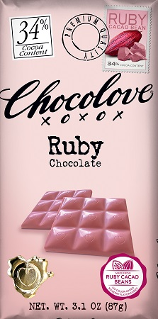 *Chocolove Ruby Pink Chocolate Bar (34% Cocoa)