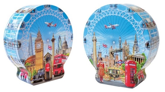 **Churchills English Toffees in Sights Of London Tin