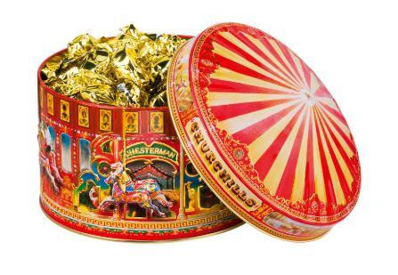 * Churchills English Toffees in Carousel tin (ONLY 6 LEFT)