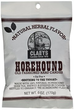 Claeys Horehound Old Fashioned Hard Candy