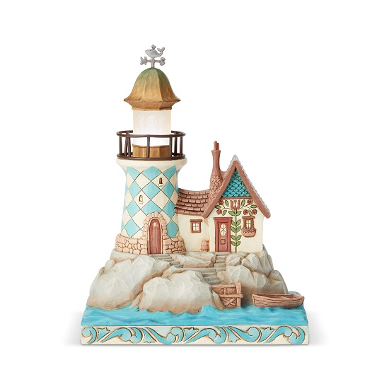 Jim Shore - Coastal Lighted Lighthouse (2 in stock)