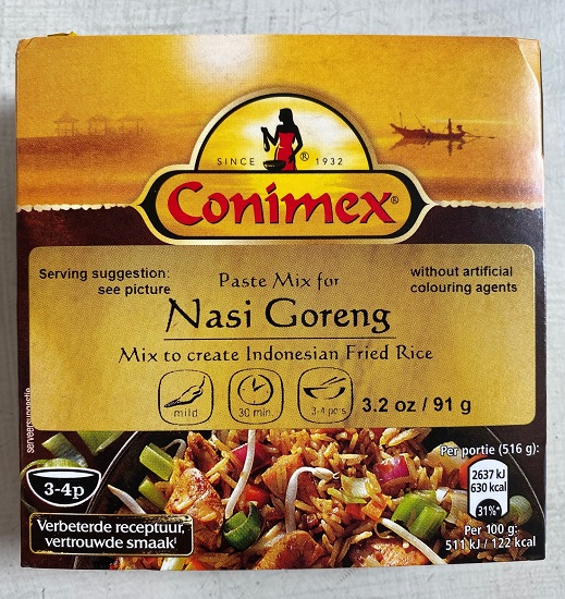 NEW! Conimex Paste Mix for Nasi Goreng (OUT OF STOCK)
