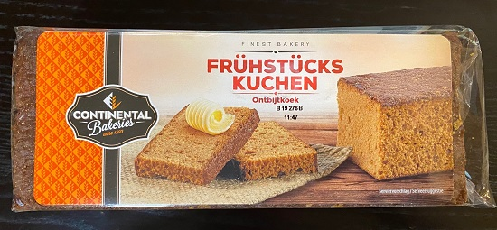 Continental Ontbijtkoek (honey cake)  (OUT OF STOCK)