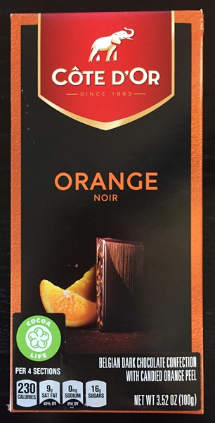 Cote D'Or Orange Noir (dark 54%)(OUT OF STOCK)