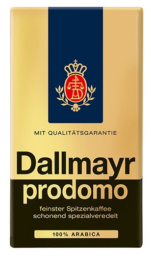 Dallmayr Prodomo Ground Coffee (SELL-BY JUNE 2019) (ONLY 4 LEFT)