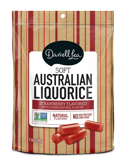 Darrell Lea  Strawberry - Red Licorice