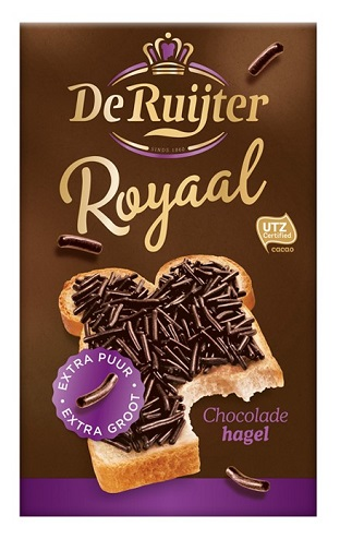 De Ruijter Royaal Extra Puur (extra dark) Sprinkles(OUT OF STOCK