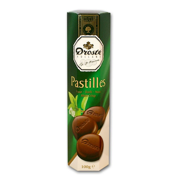 Droste Dark/Mint Chocolate Pastilles