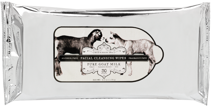 Beekman 1802 Goat Milk Facial Cleansing Wipes