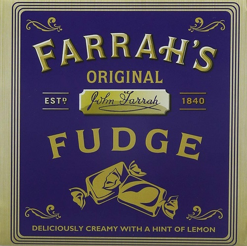 *Farrah's Original Lemon Fudge (8 LEFT) (SELL-BY 31JUL2020)