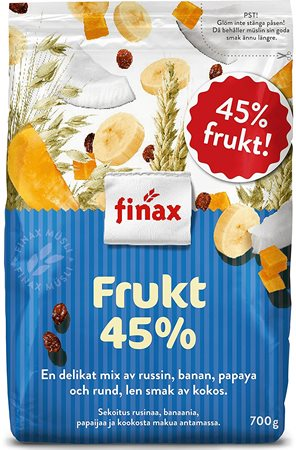 Finax Muesli Frukt 45% (blue) (SELL-BY APRIL 2019)