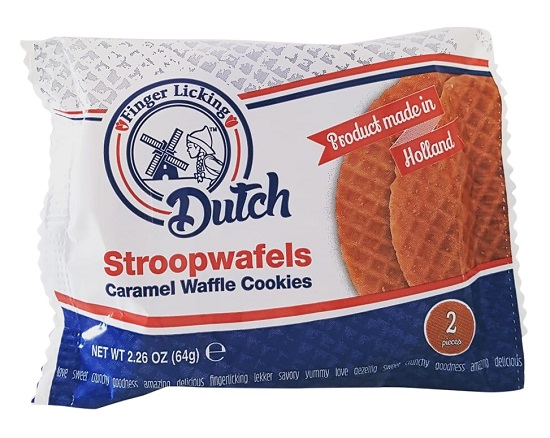 Finger Licking Dutch Stroopwafels 2-pack(SELLBY: 04OCT2020)(5Lef