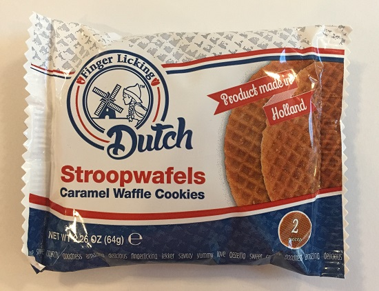 Finger Licking Dutch Stroopwafels 2-pack (SELL-BY SEPTEMBER 29,