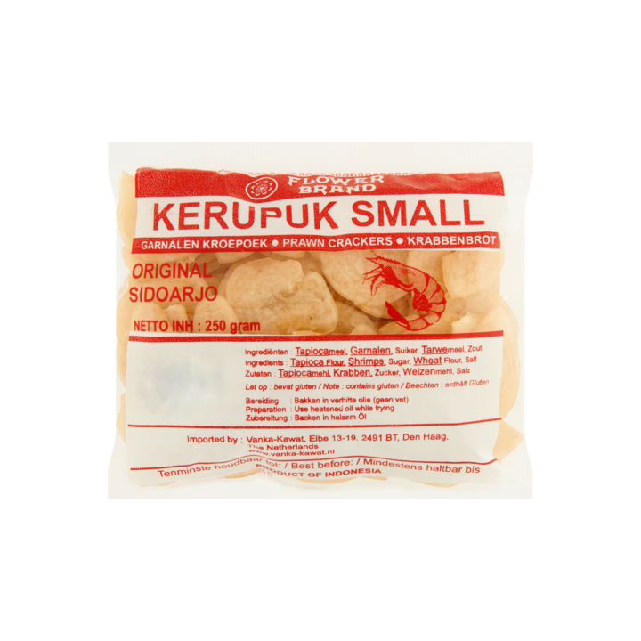 Vanka Kawat uncooked Kroepoek (Kerupuk) (clear bag) (1 LEFT)