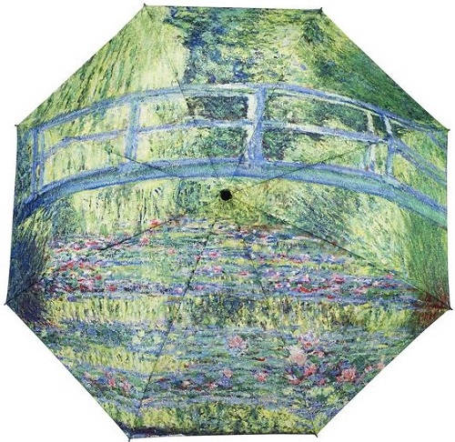 ** Monet Japanese Bridge Folding Umbrella (1 LEFT)