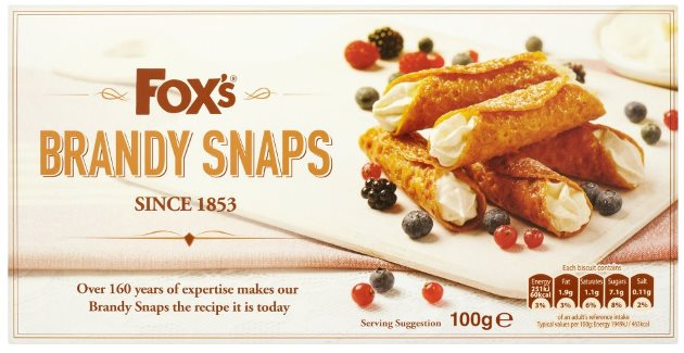 *Fox's Brandy Snaps, Carton