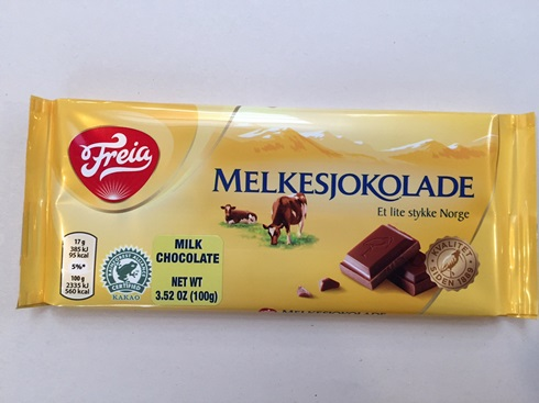 Freia Melkesjokolade (milk choc) 2.12oz(Out Of Stock)