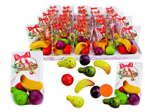*Funsch Marzipan Fruit in Gift Bag (1 gift bag only) (PRE-ORDER)