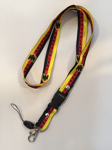 Germany Lanyard (ONLY 4 LEFT)