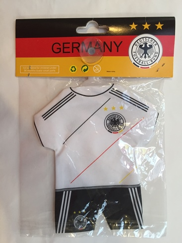German Soccer mini car jersey (ONLY 4 LEFT)