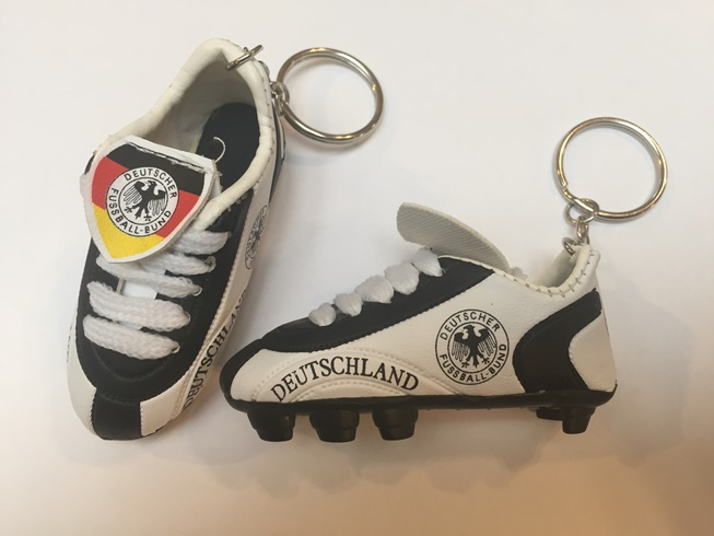 German Soccer Shoe Keychain (ONLY 5 LEFT)