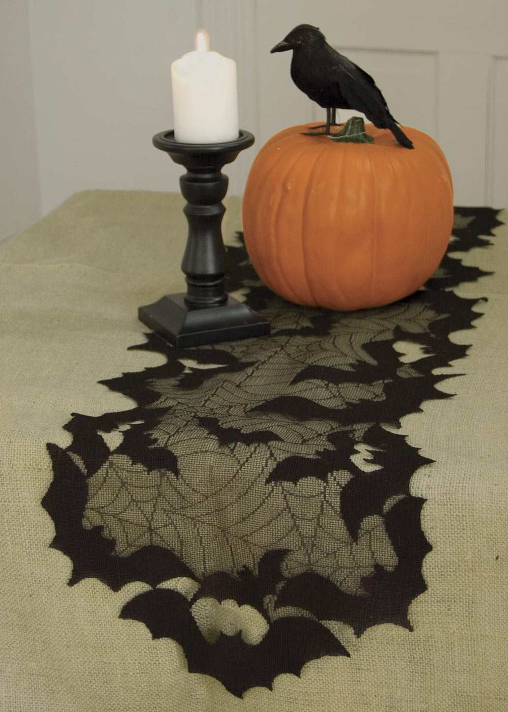 "Going Batty 14"" x 48"" Runner 30% OFF! (6 LEFT)"
