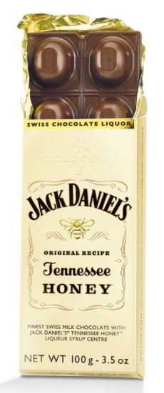 *Goldkenn Jack Daniels Honey Milk Choc (ALCOHOL) 21+ (2 LEFT)