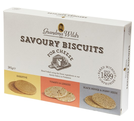 Grandma Wilds Savoury Biscuit Selection (SELLBY 5JUN2020)(1LEFT)