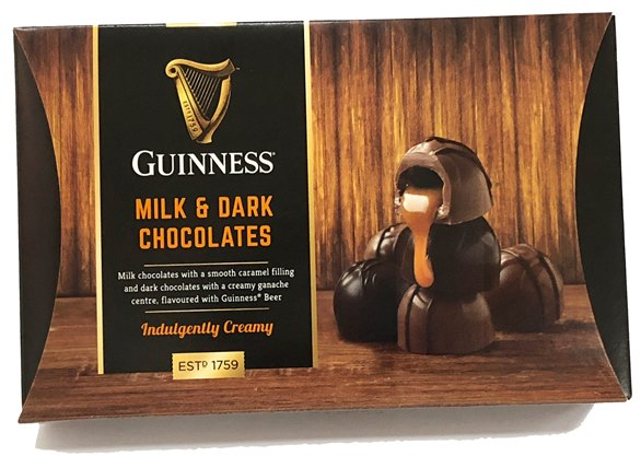 Guinness Milk&Dark Choc Truffles (ALCOHOL)(SELL-BY JANUARY 2020)