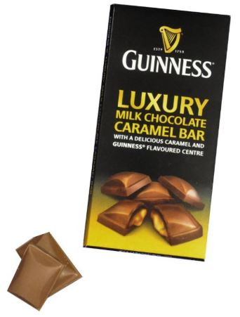 *Guinness Milk Choc Caramel Bar (ALCOHOL) 21+ only (1 LEFT)