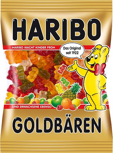 Haribo Germany Gold Bears (Goldbaeren) (OUT OF STOCK)