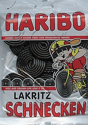 Haribo Germany Licorice Wheels (Vegetarian) (OUT OF STOCK)