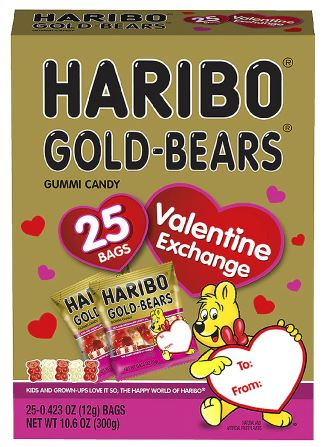 *Haribo Valentines Day Goldbears Exchange Box (25ct)